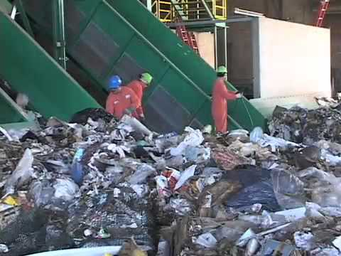 Municipal Solid Waste Msw Recycling System Sunnyvale