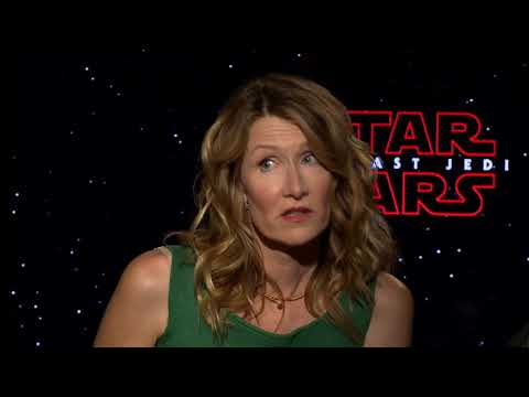 Star Wars: The Last Jedi Interview - Laura Dern & Oscar Isaac