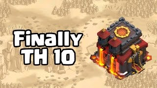 Clash of Clans | Finally TH 10 | Clash with Theo