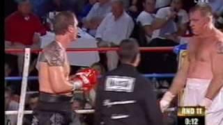 Australian Heavyweight Boxer Nathan Briggs Vs Colin Wilson 3, OPBF Heavyweight Title