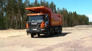 Scania для работы в карьере. (полная версия теста)