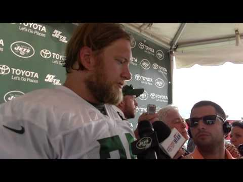 Nick Mangold - 2014 Jets Training Camp Day 2