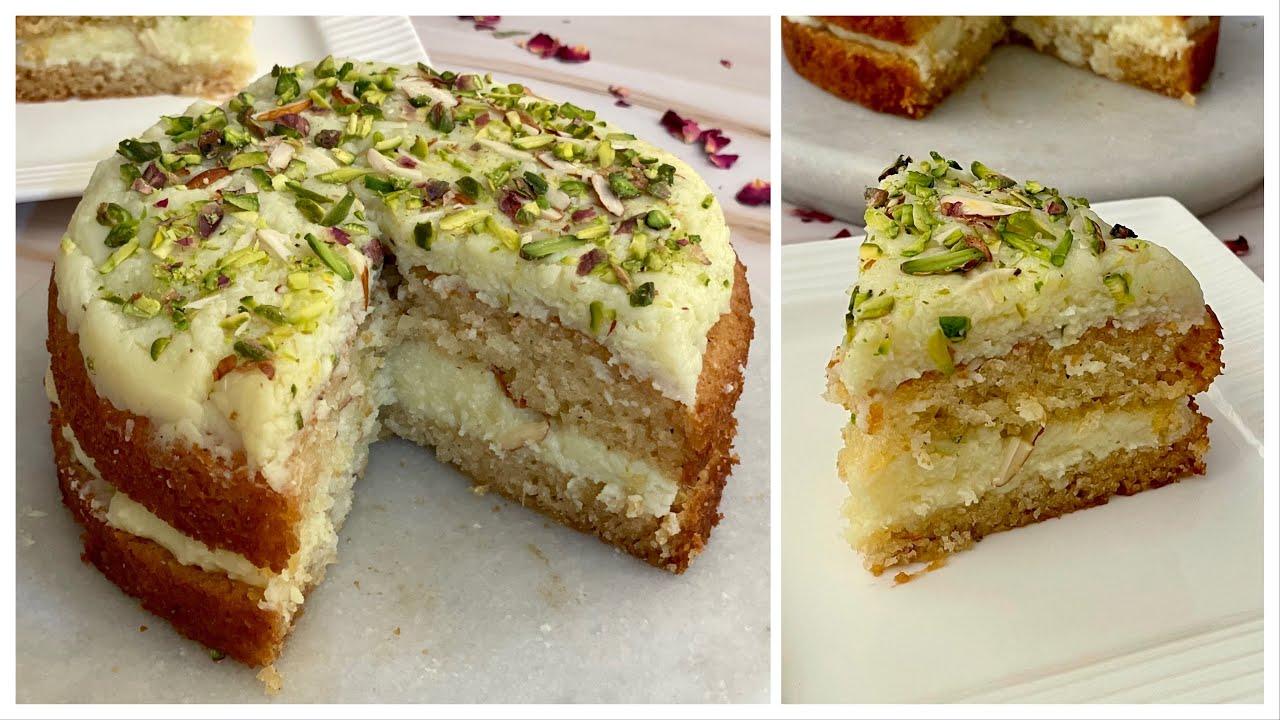 Super Soft Barfi Cake In Kadai   No Cream, No Oven, Egg,Condensed Milk सबसे टेस्टी और आसान केक Barfi