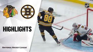 09/28/19 Condensed Game: Blackhawks @ Bruins