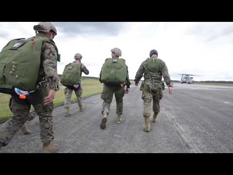 DFN:2nd Recon parachute operations, CAMP LEJEUNE, NC, UNITED STATES, 04.25.2018