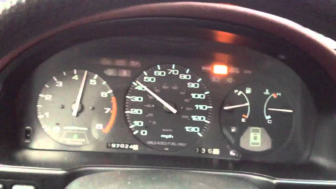 1992 Honda Accord Ex Manual 0 60 Youtube