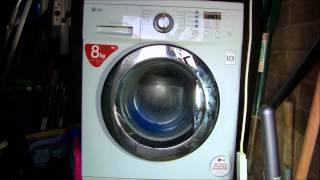lg f1222td direct drive washing machine cotton final spin 1200rpm 13 14