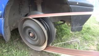 Základ všeho je modré daewoo tico LPG s prasklou pření pneu ;-)