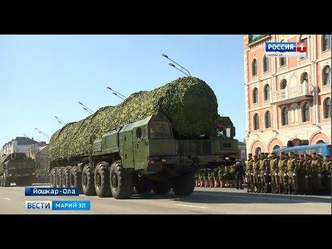 Боевая техника в Йошкар-Оле: репетиции Парада Победы идут полным ходом - Вести Марий Эл