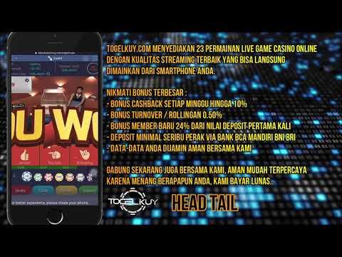 Live Game Casino Idn Bonus Cashback Terbesar Dan Rollingan Turnover Terbesar Youtube