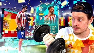 THE STRONGEST CARD IN FIFA?! 89 FLASHBACK COSTA PLAYER REVIEW! FIFA 20 Ultimate Team
