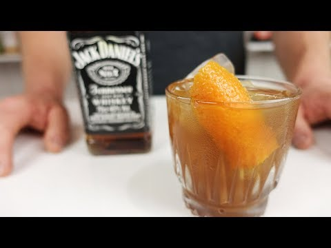 JACK AND COKE OLD FASHIONED 🥃 - For Aiden Lodo - Original Of The Educated Barfly!!