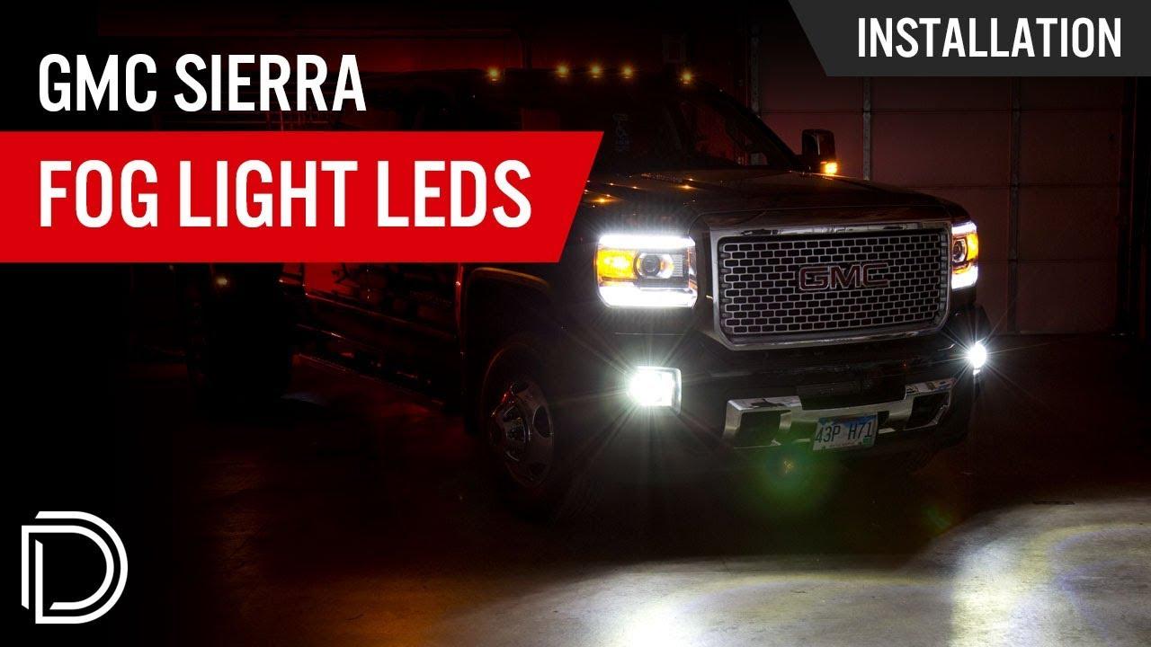 Gmc Sierra Fog Light Leds By Diode Dynamics Youtube