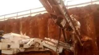Perfuração de tirante 12 metros em 8 minutos