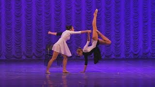 Танцевальный дуэт «Побеждая страх». Фестиваль-конкурс Синяя Роза