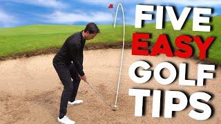 Simple golf tips fŗom AMAZING golfer - MUST TRY!
