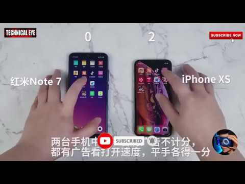 redmi-note-7-vs-iphone-xs-speed-test-by-technical-eye