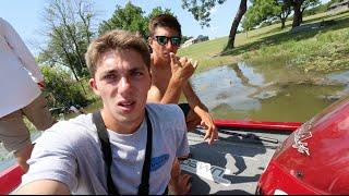 Bass Fishing With Flukemaster and Peric -- Texas VLOG no. 2