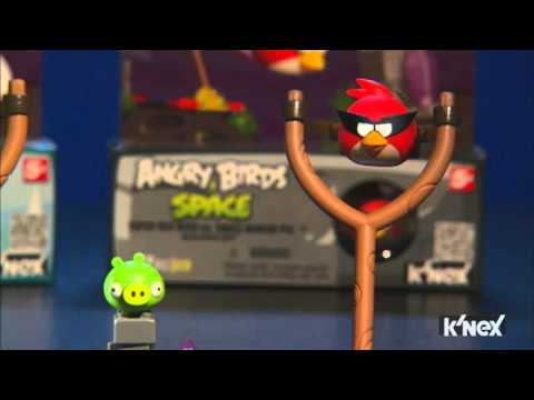 K'NEX ANGRY BIRDS SPACE Building Set: INTRO ASSORTMENT