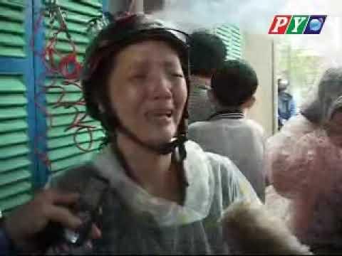 Mirine storm at Phu Yen province in Vietnam