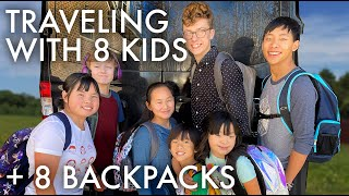 PACKING OUR BACKPACKS FOR TRAVELING : PERU 2020 : Adventuring Family of 11