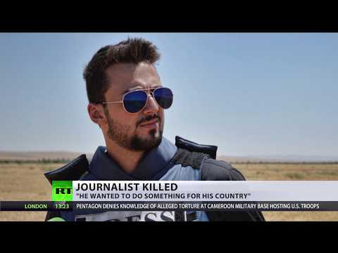 Final moments: RT Arabic contributor Khaled Alkhateb's last seconds before death at hands of ISIS