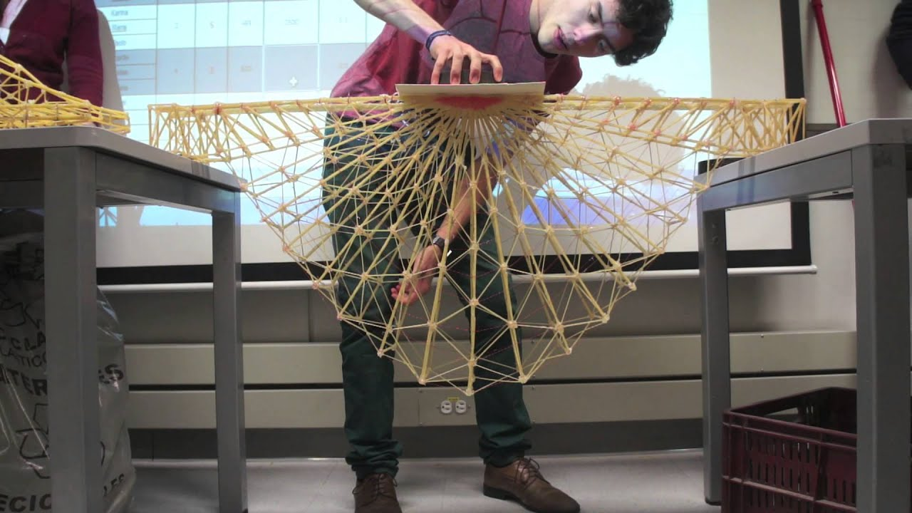 how to make a pasta bridge