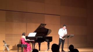 Astor Piazzolla ピアソラ 作曲 アディオスノニーノ 2014年12月20日 山...