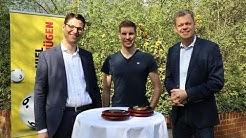 Arnd Peiffer zu Gast bei seinem langjährigen Sponsor LOTTO Niedersachsen