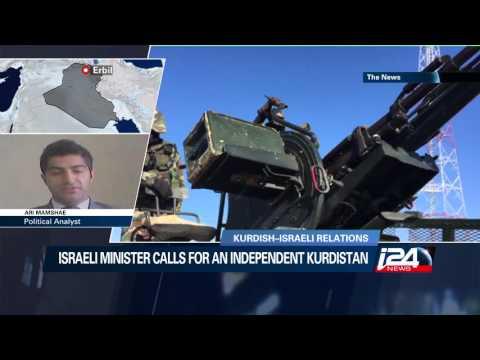 Kurdish political analyst in Iraq speaks to i24news