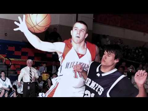 Mike Trouts Second Best Sport Basketball YouTube
