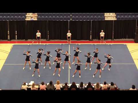 2019 State Cheerleading Championships Presque Isle High School Class B
