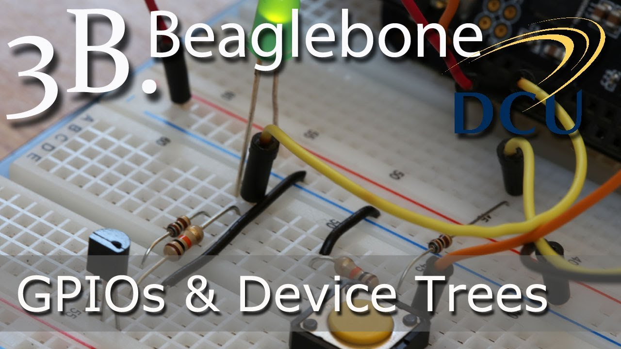 GPIOs on the Beaglebone Black using the Device Tree Overlays
