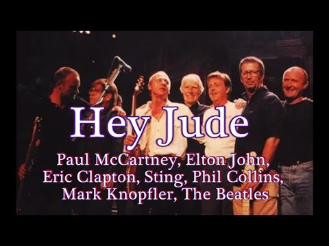 Hey Jude the beatles (live)