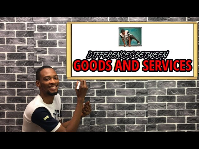 Differences Between Goods And Services (Explained)