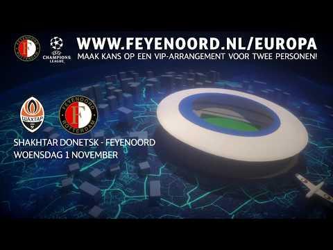 Beleef Feyenoord in de Champions League als VIP!