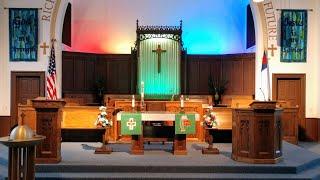 Sunday Worship Service - July 11, 2021