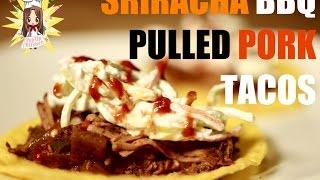 How to Make Sriracha BBQ Pulled Pork - Slowcooker (Crockpot) Recipe