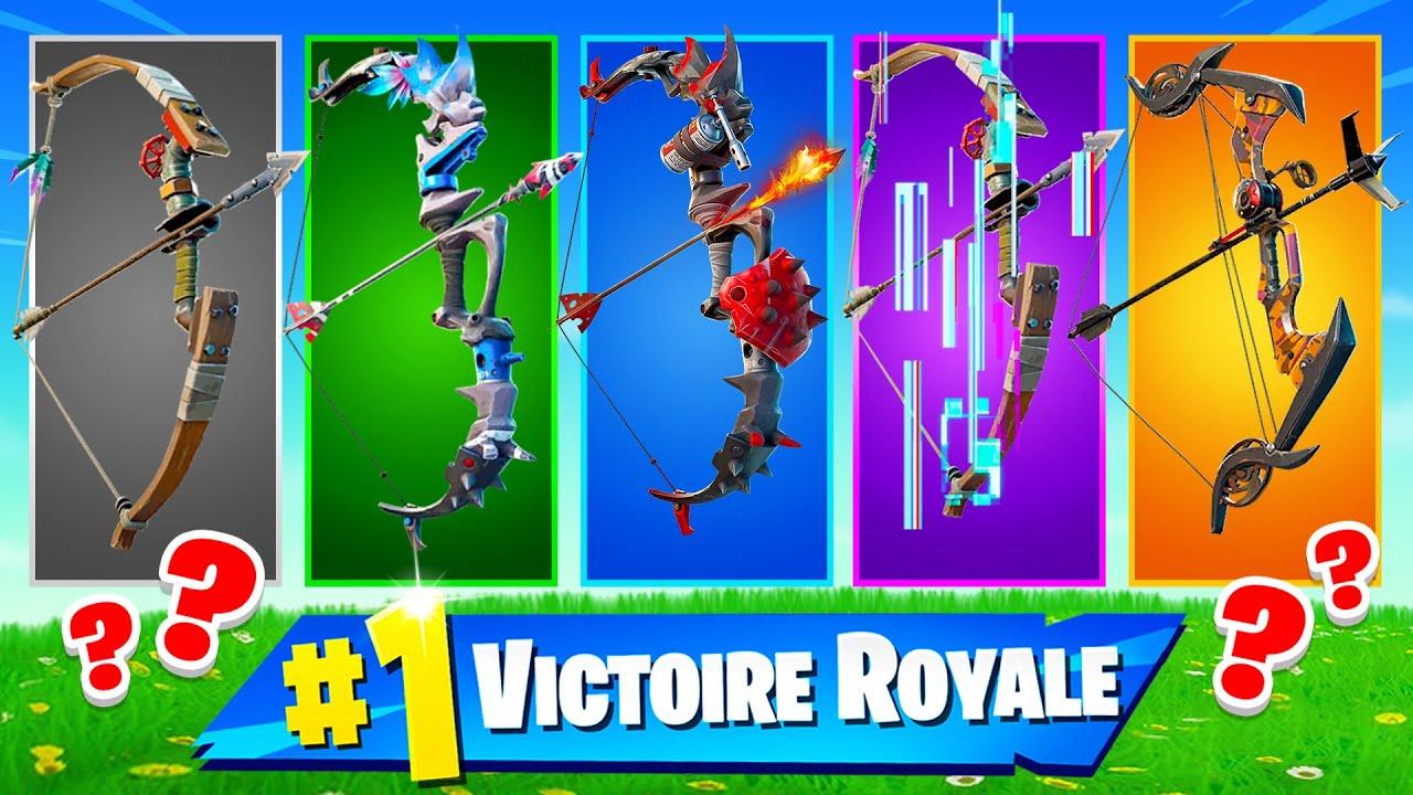 ARC ALÉATOIRE CHALLENGE ! Défi FORTNITE Battle Royale