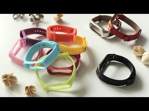 Xiaomi Mi Band 3 - сменные ремешки и браслеты, все что найдено на просторах интернета