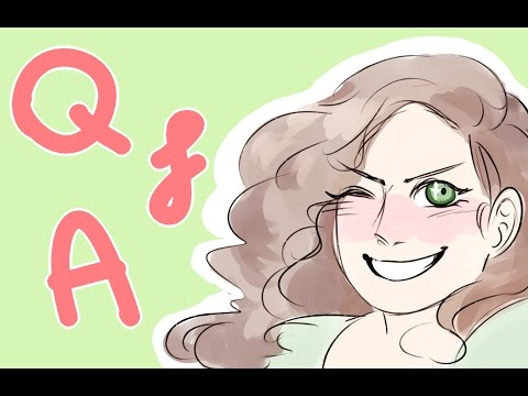The Grand Q and A || What I use to make animatics etc.!