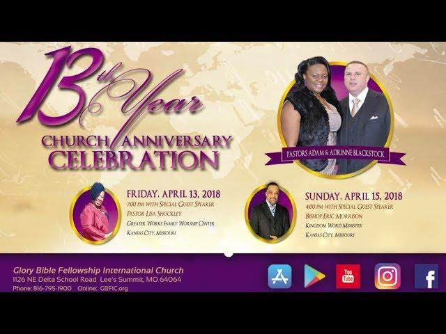 Anniversary Service | Bishop Eric Morrison