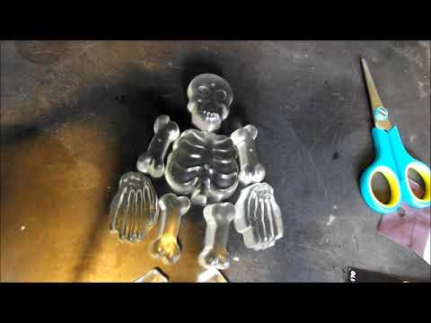 DIY Resin Skeleton Halloween Decoration!!