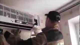 видео Установка сплит систем в Краснодаре недорого: цена монтажа и демонтажа кондиционеров