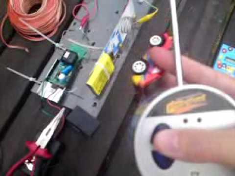 Testing the EMP gun