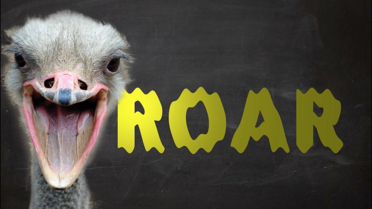Male Ostrich Can Roar Like a Lion