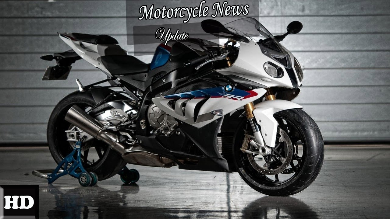 hot news  2018 bmw s1000rr new white blue strips
