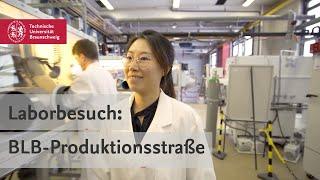 Laborbesuch: Festkörperbatterie-Produktionsstraße der BLB