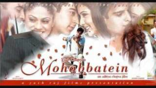 Gambar cover Mohabbatein- love theme instrumental