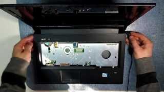 Разборка и ремонт Lenovo B560, V560 (Lenovo B560, V560 laptop repair)(В этом видео показано каким образом можно устранить типовую неисправность(не включается, не стартует) на..., 2013-05-07T11:45:52.000Z)